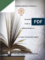 Antologia Taller de administración ISC