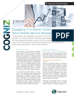 Equipping IT to Deliver Faster, More Flexible Service Management