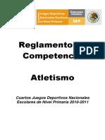 Reglamento Atletismo 3-11-2010