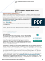 Case Study_ Tuning WebSphere Application Server V7 and V8 for Performance
