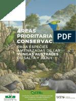 Areas Prioritarias de Conservacion Especies de Las Yungas de Salta y Jujuy