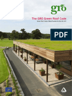 The GRO Green Roof Code 2011