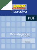 Morfossintaxe Da Lingua Portuguesa Unid I UNIP
