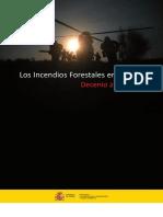 Estadística Incendios Forestales España Decenio 2001 2010