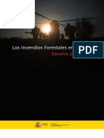 Estadistica Incendios Forestales España 2001-2010