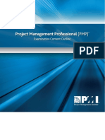 PMP Examination Content Outline_2015_Final