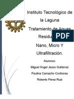 Micro y Nano Filtracion
