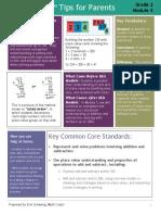 eureka math grade 2 module 4 parent tip sheet