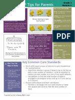 eureka math grade 2 module 6 parent tip sheet