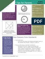 eureka math grade 2 module 8 parent tip sheet