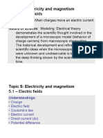 Topic 5.1 - Electric Fields