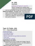 Topic 10.1 - Describing Fields - AHL