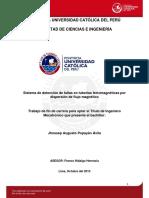 Sistema de Deteccion de Fallas en Tuberias Ferromagneticas
