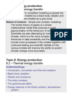 Topic 8.2 - Thermal Energy Transfer