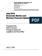 2016-07 July Forecast Kavet