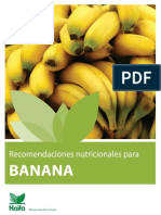 Manual de Cultivo de Bananas