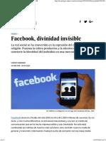 Facebook, Divinidad Invisible _ Tecnología _ EL PAÍS