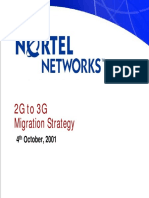 Nortel Networks 2g to 3g Migration