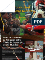 Four Worlds Foundation, PIctorial Report,  June 2015 - Sept 2015 (Spanish )