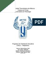 Plan de Orientación Educativa - Clinica de Emociones