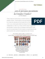 ¿Quién Será El Próximo Presidente de Estados Unidos_, Por Thierry Meyssan