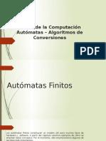 Algoritmos de Conversion