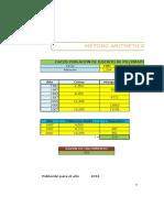 Métodos Analíticos de Cálculo Poblacional