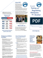Tax and Regulate Brochure