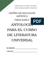 Antología de Literatura Universal.
