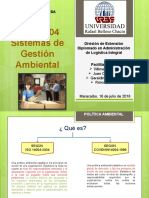 Expo 5 Iso 14004 Gestion Ambiental