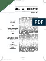 Resenha & Debate Nº5