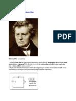 Teori Dan Percobaan Hukum Ohm