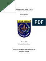 Cover Portofolio Kasus