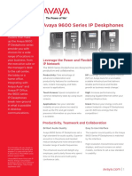 9600 Series Ip Deskphones - Brochure