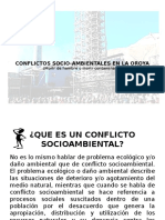 1.- Conflictos Socio-Ambientales en La Oroya