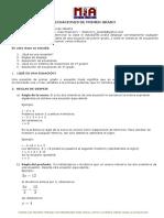 Material de Ecuaciones de Primer Grado