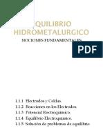 Cap i - Equilibrio Hidrometalurgico 1