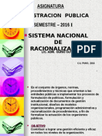 ADM PUBLICA PPT 2016-I_parte 2 SIS_RACIONALIZ.ppt