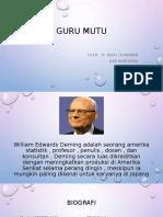 03 - 04 GURU MUTU WILLIAM E DEMING.pptx