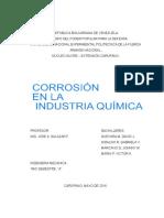 Corrosion en La Industria Quimica