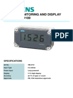 7ML5741 SIEMENS REMOTE MONITORING AND DISPLAY - SITRANS RD100