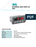 7ML5740 SIEMENS REMOTE MONITORING AND DISPLAY - SITRANS RD200