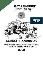 Combat Leaders Guide 2003