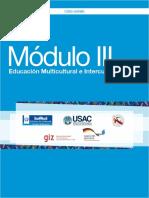 Módulo III Educacion Multicultural e Intercultural