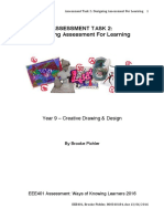 assessment design for learning