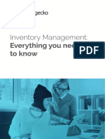 Inventory Management Everything You Need to Know eBook