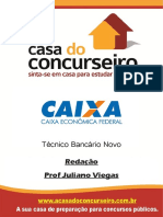 Apostila CEF 2015 - Redação - Juliano Viegas Aula 1 - Parte