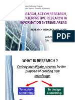 07 - Policy Action Interpretive Research