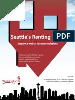 Seattles Renting Crisis WCAN