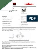 Datasheet Tap Tempo MV-52B Tap Pulse Converter Datasheet v0 3